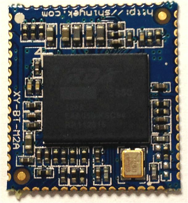 蓝牙模块  描述 rda5850蓝牙模块专为蓝牙无线音箱
